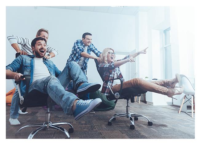 Bild einer Gruppe von Menschen